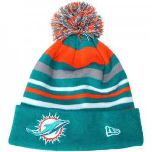 Miami Dolphins Winter Hats