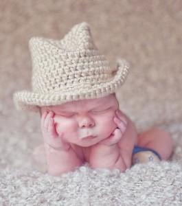 Newborn Cowboy Hat
