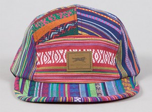 Obey Five Panel Hat