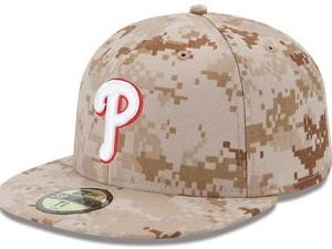 Phillies Camo Hat
