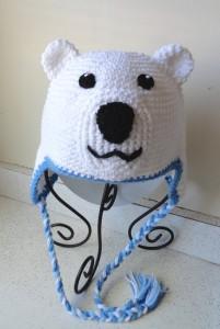 Polar Bear Hat Crochet Pattern