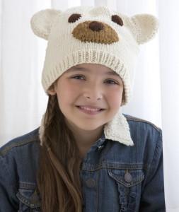 Polar Bear Hat Knitting Pattern