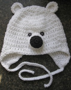 Polar Bear Hat Pattern