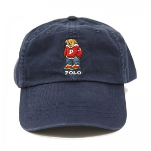 Polo Hat with Bear