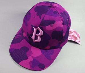 Purple Camo Hat