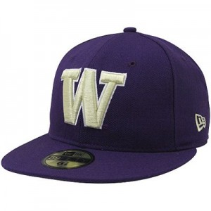 Purple Fitted Hats