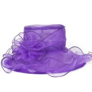 Purple Hats for Weddings