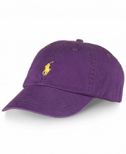 Purple Polo Hat