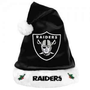 Raiders Santa Hat