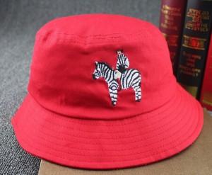 Red Bucket Hat Men