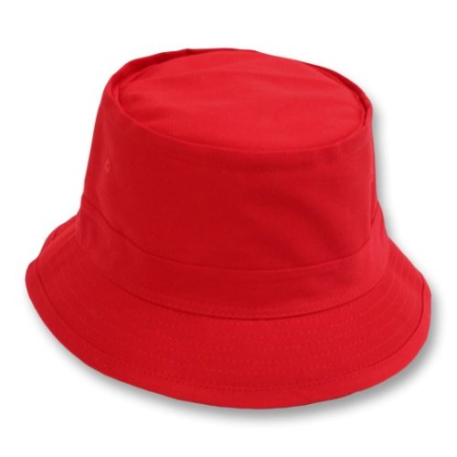 Red Wool Knitted Bucket Hat -756532-RD- Sun Yorkos ... |Red Bucket Hat