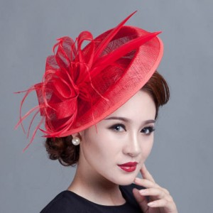 Red Fascinator Hats