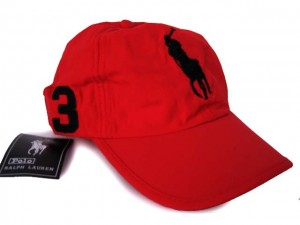 Red Polo Hat