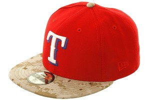 Red Texas Rangers Hat