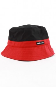Red and Black Bucket Hats