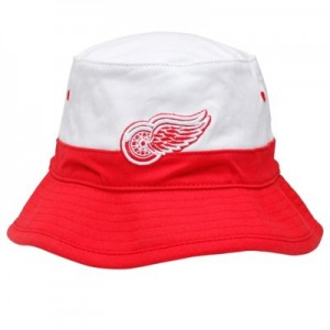 Red and White Bucket Hats