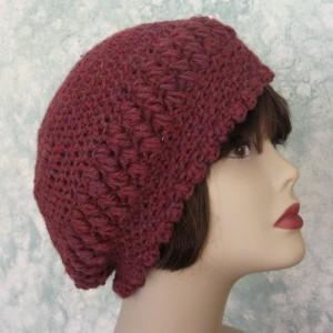 Slouch Hat Pattern Crochet