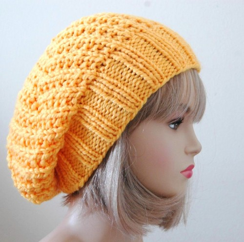Free Knitting Pattern For Baby Slouch Hat : Slouch Hats   Tag Hats