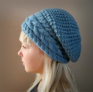 Slouchy Winter Hat