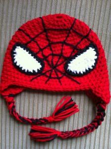 Spiderman Hat Crochet