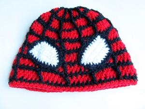 Spiderman Hat Crochet Pattern