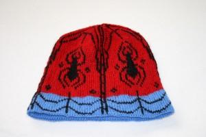 Spiderman Hat Knitting Pattern