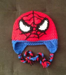 Spiderman Knit Hats
