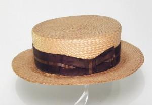 Straw Boat Hat