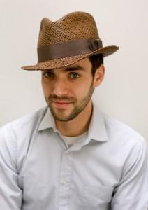 Straw Fedora Hats for Men