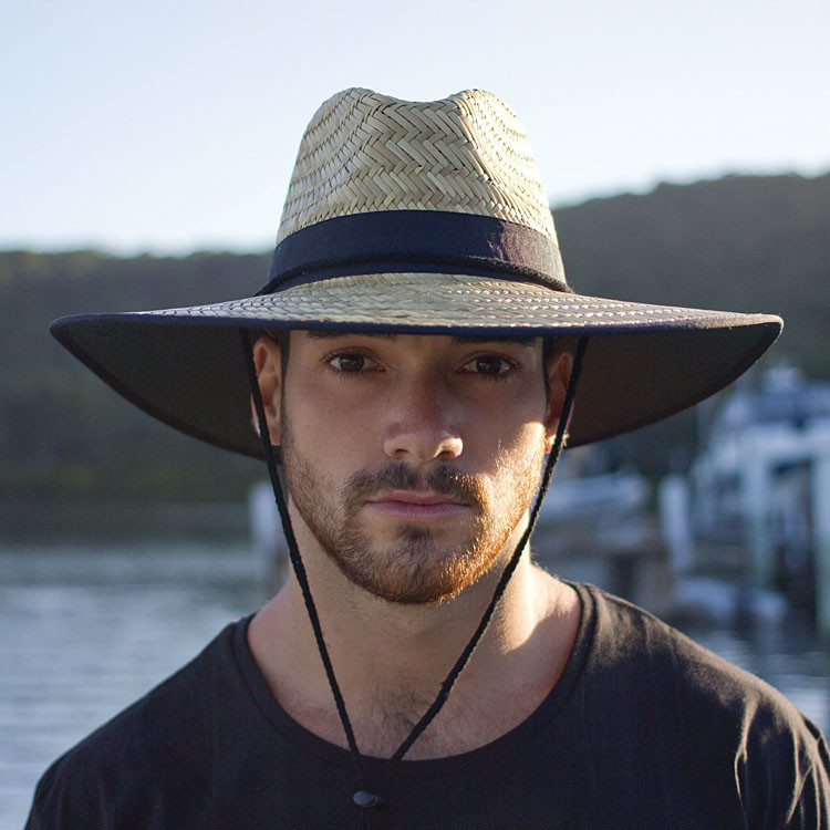 Straw Beach Hats For Men Straw Sun Hats For Men