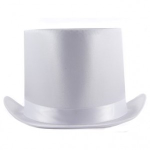 Tall White Top Hat