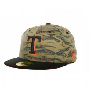Texas Rangers Camo Hat