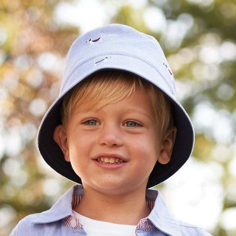 This crocheted cotton sun hat for children can be made for both boys and girls, using the colors of your choice. For the crown of the hat (rounds ) each round will start with a ch1 loosely, (not ch 2 as usually); the ch1 loosely will be counted as a hdc! The second stitch will be made in the.