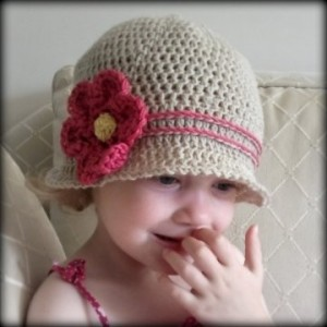 Toddler Sun Hat Crochet Pattern