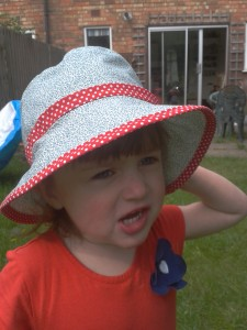 Toddler Sun Hat Pattern