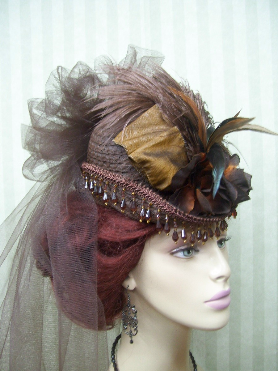 how to make victorian hats - photo #6