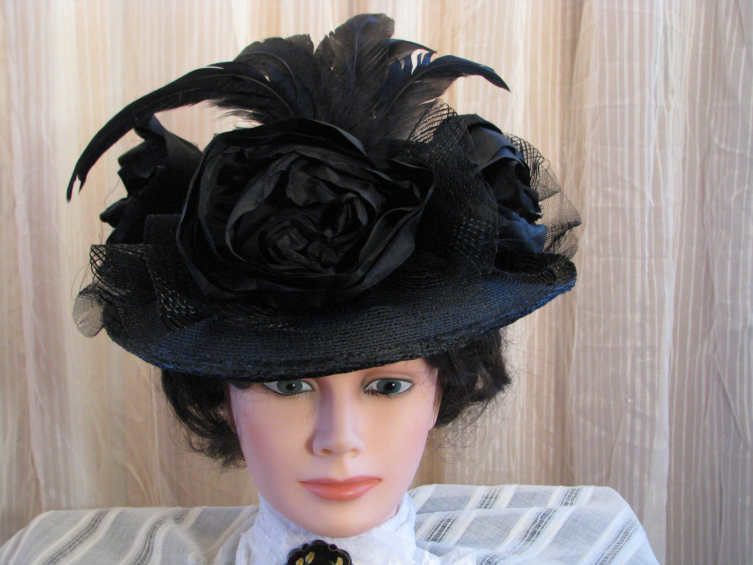 how to make victorian hats - photo #14