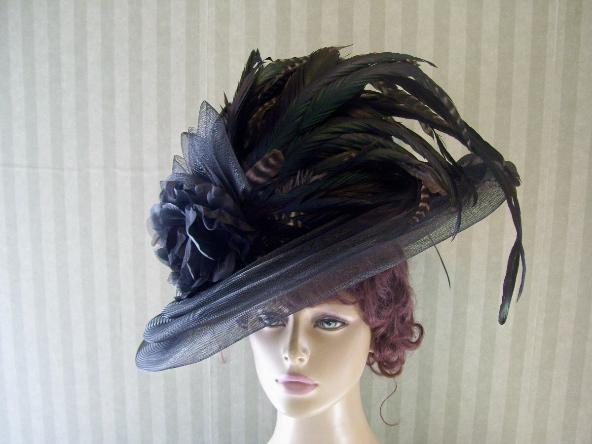 how to make victorian hats - photo #17