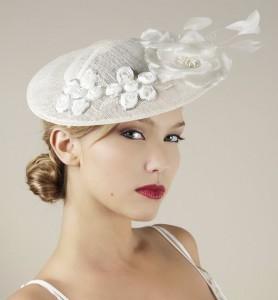 White Fascinator Hat