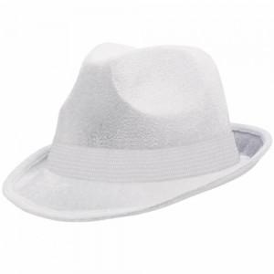 White Fedora Hat for Men