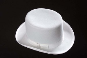 White Top Hats