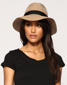 Wide Brim Fedora Hat for Women