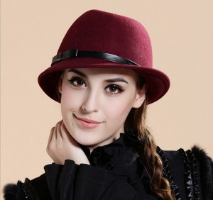 Wool Fedora Hats for Women
