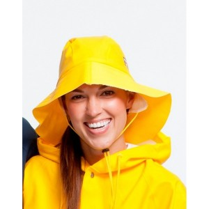 Yellow Rain Hat