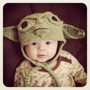 Yoda Hat Baby