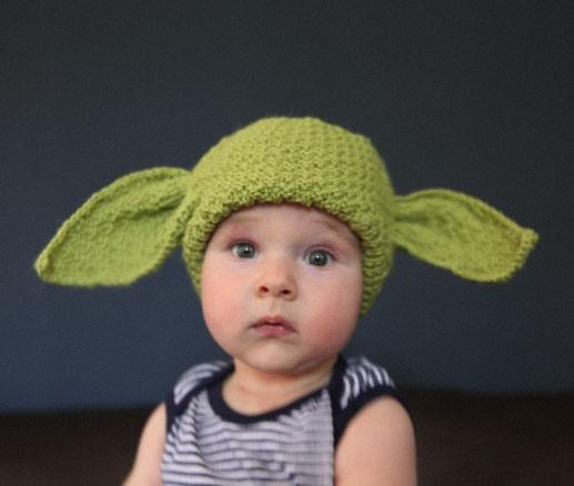 Yoda Baby Hat Knitting Pattern : Yoda Hats   Tag Hats