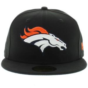 Black Broncos Hat