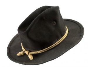 Black Campaign Hat