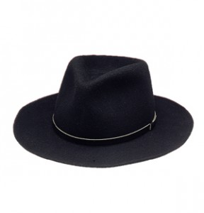 Black Fedora Hat Image