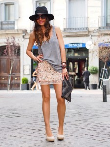 Black Fedora Hat Outfit